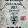 PREVIEW: The Big 4 – Anthrax, Megadeth, Metallica & Slayer