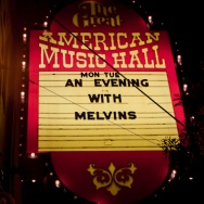 PICTURE THIS: Melvins @ GAMH 5/16/2011