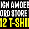 FROM THE NEWS NEST: Only You Can Design Amoebas Record Store Day T-Shirt