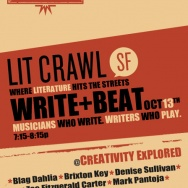 THE OWL MAG PRESENTS: WRITE+BEAT: Musicians Who Write, Writers Who Play @ Creativity Explored, SF 10/13/12