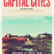 FREE TICKETS: Capital Cities @ The Lodge at Regency Ballroom, SF 10/6/12