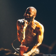 PICTURE THIS: Death Grips @ Slims, SF 12/3/12