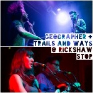 PICTURE THIS: Geographer @ Rickshaw Stop, SF 1/9/14