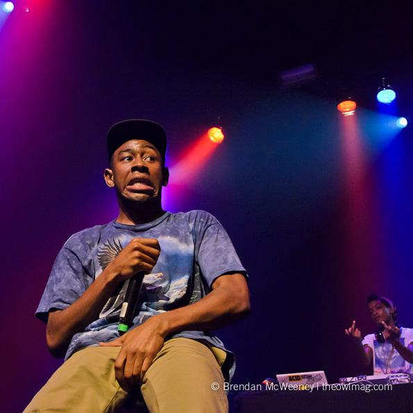 The Odd Future Tyler The Creator The Regency Ballroom San Francisco