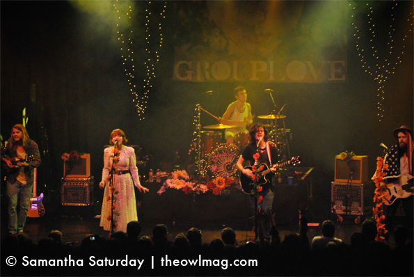LIVE REVIEW: Grouplove @ El Rey, Los Angeles 10/26/11 ...