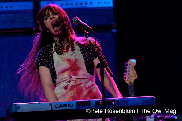 Le Butcherettes_The Warfield_12_6_2011_6