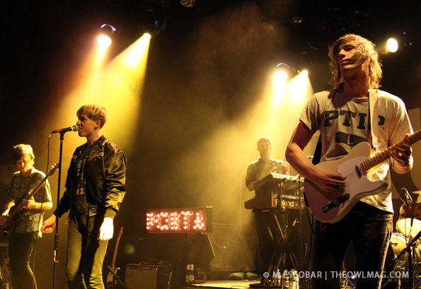 PICTURE THIS: The Drums @ El Rey, LA 5/14/12 | The Owl Mag