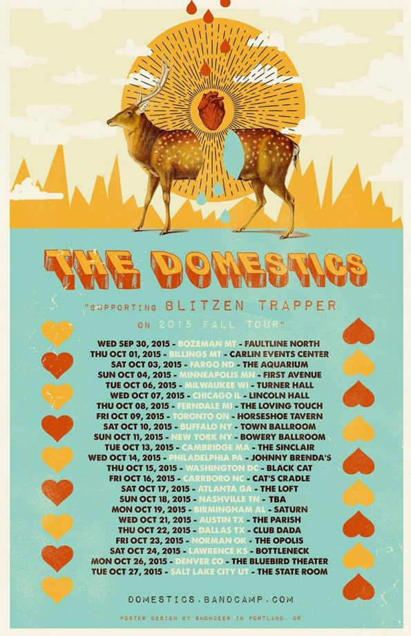 The Domestics Fall Tour 2015