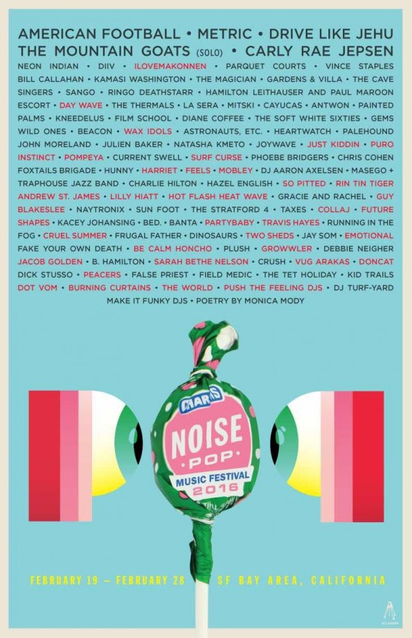 Noise Pop Music Fest 2016